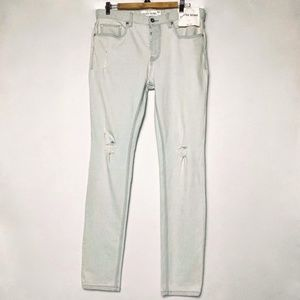 Topman Skinny Jeans Stretch Light Washed